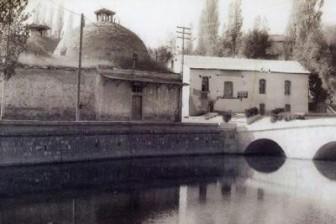Meram köprüsü ve hamamı